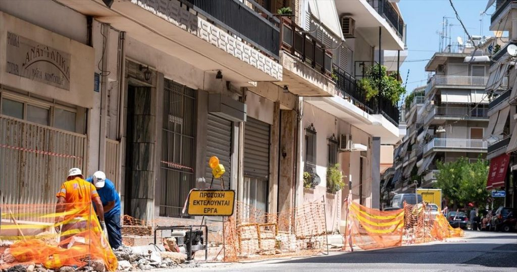 Σε εξέλιξη η αναβάθμιση των πεζοδρομίων προϋπολογισμού 24 εκατ. ευρώ