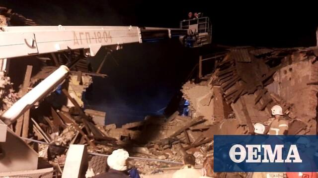 Ρωσία: Τρεις νεκροί από έκρηξη φυσικού αερίου σε διώροφο κτίριο
